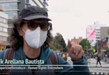 Voces contra la desparicion forzada en Paro Navcional